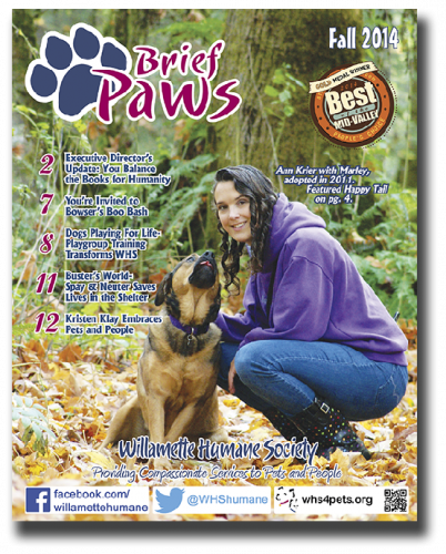 Read the Fall Edition of Brief Paws!