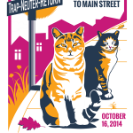 National Feral Cat Day Official Poster small