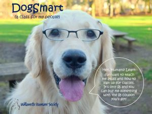 Dog Smart (Humans Only) @ Willamette Humane Society | Salem | Oregon | United States
