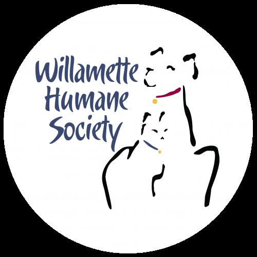 WHS Logo on Translucent White Circle